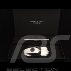 Porsche Design Shake Pen Chrome 2019 ballpoint Pen 911 sculpture as holder