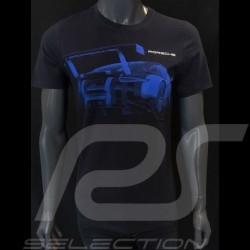 Porsche T-shirt 911 RSR nachtblau Porsche Design WAP932K0SR - Unisex