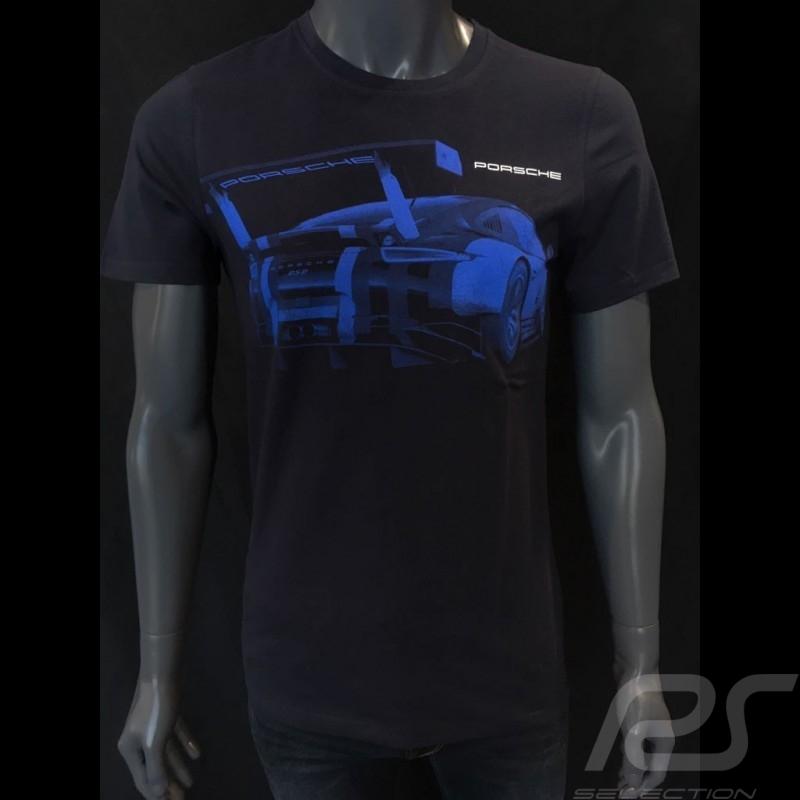 T-shirt Porsche 911 RSR bleu nuit Porsche Design WAP932K0SR - mixte