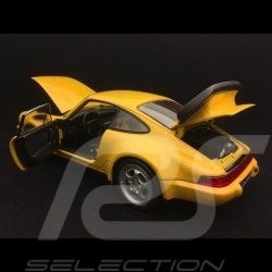 Porsche 911 turbo 964 3.6 jaune vitesse speed yellow speedgelb 1993 1/18 Welly 18026