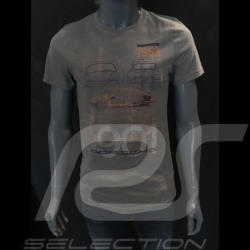Porsche T-shirt 901 Classic Legends of 1963 grey Porsche Design WAP931K0SR - unisex