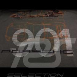 Porsche T-shirt 901 Classic Legends of 1963 grey Porsche Design WAP931K0SR - unisex