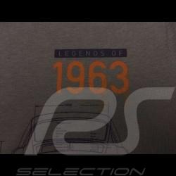 Porsche T-shirt 901 Classic Legends of 1963 grau Porsche WAP931K0SR - Unisex