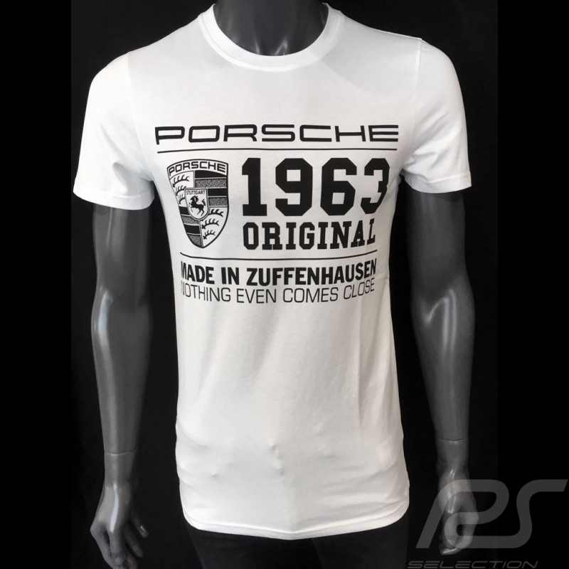 Porsche T-shirt Classic 1963 white Porsche Design WAP933K0SR