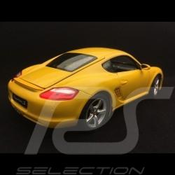 Porsche Cayman S 987 speed yellow 2005 1/18 Welly 18008