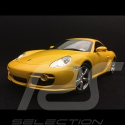 Porsche Cayman S 987 speedgelb 2005 1/18 Welly 18008