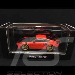 Porsche 911 GT2 RS type 991 2018 lava orange 1/43 Minichamps 410067229