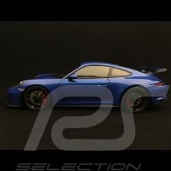 Porsche 911 GT3 type 991 phase II 2017 1/18 Minichamps 110067030 bleu saphir sapphire blue saphirblau