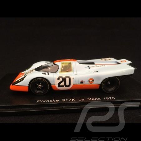 Porsche 917 K n° 20 Gulf 24h du Mans 1970 1/43 Spark S1969