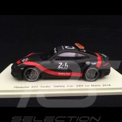Porsche 911 type 991 Turbo 24h Le Mans 2018 Safety Car 1/43 Spark S7046 70 years