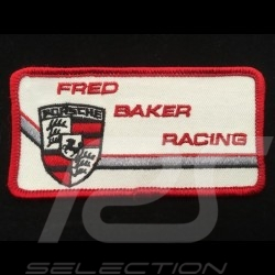 Fred Baker Racing Badge to sew-on