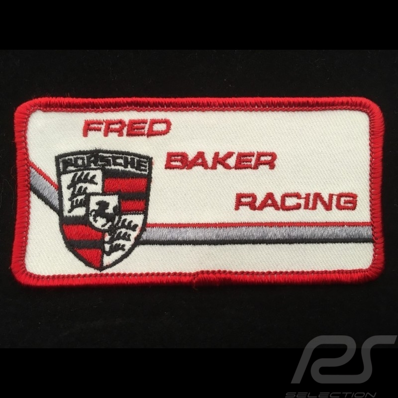 Badge à coudre to sew-on zum aufnähen Fred Baker Racing