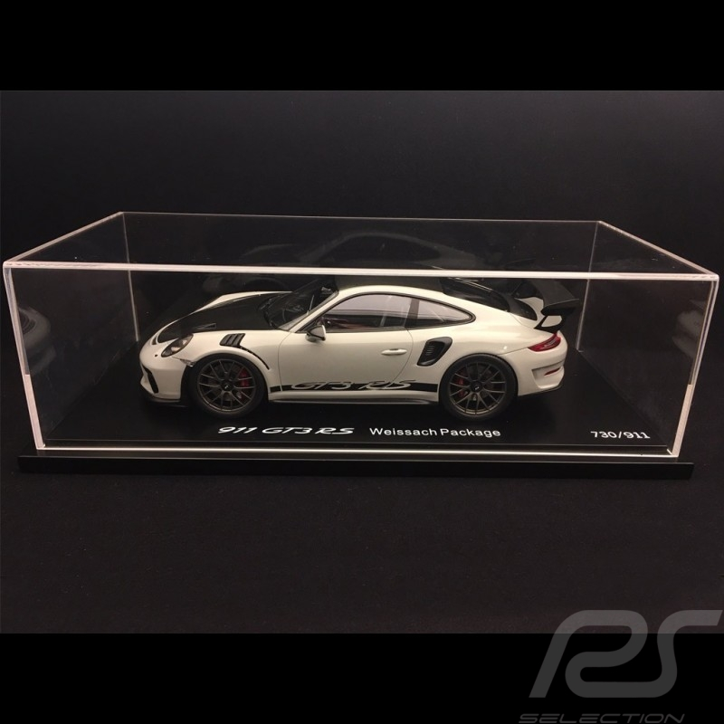 Porsche 911 GT3 RS type 991 Phase ll 2018 chalk grey 1/18 Spark WAP0211550J