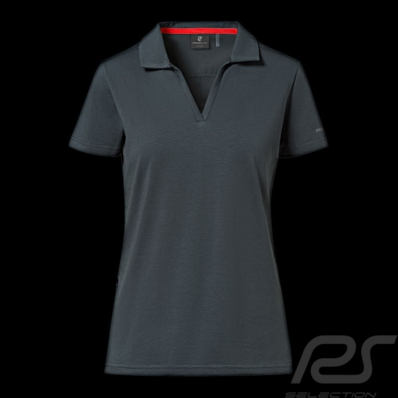 Porsche Polo shirt Urban Explorer Petrol grey Porsche Design WAP204LUEX - Women