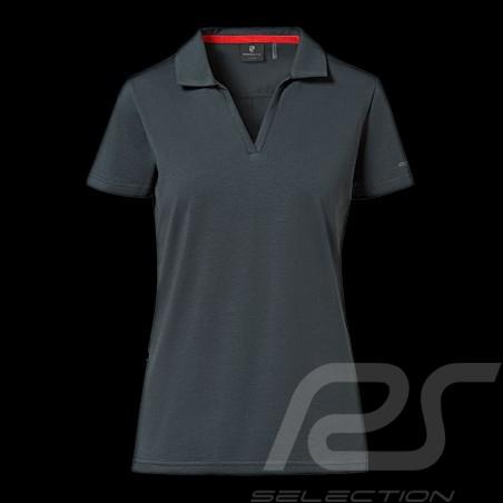 Polo Porsche Urban Explorer gris pétrole Porsche Design WAP204LUEX poloshirt shirt grey grau femme damen women