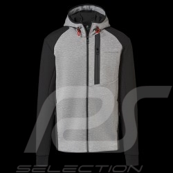 Porsche Kapuzenpullover Urban Explorer hoodie grau / schwarz Porsche Design WAP212LUEX - Herren