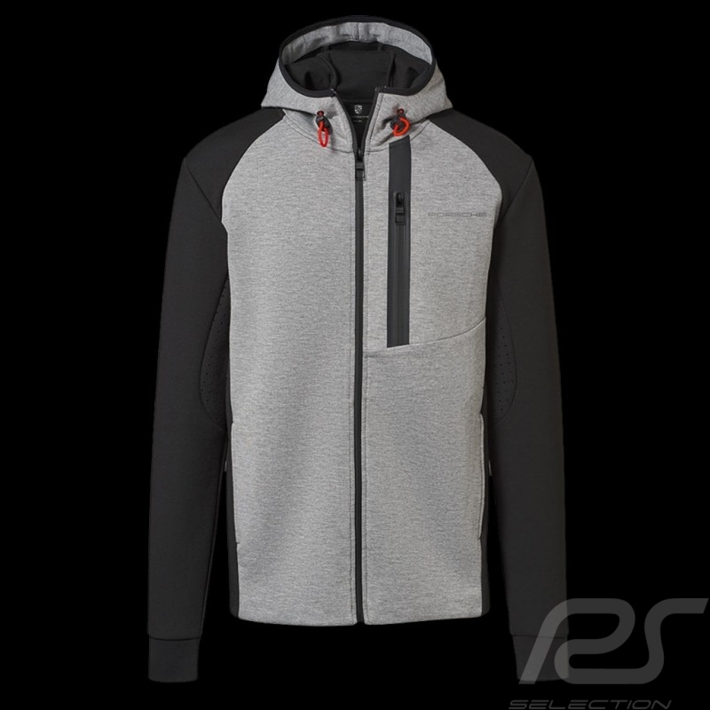 Porsche Hoodie Urban Explorer grey / black Porsche WAP212LUEX - men