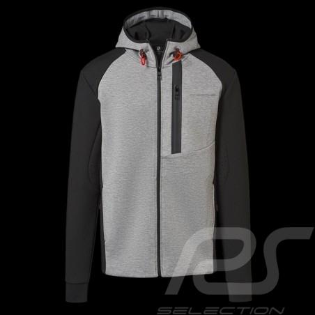 Porsche Kapuzenpullover Urban Explorer hoodie grau / schwarz Porsche WAP212LUEX - Herren