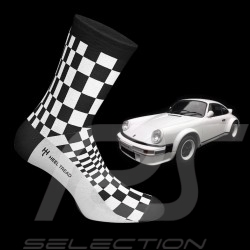 911 Carrera SC Pasha socks black / white - unisex