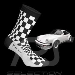 Chaussettes Socks Socken 911 Carrera SC Pasha noir / blanc - mixte