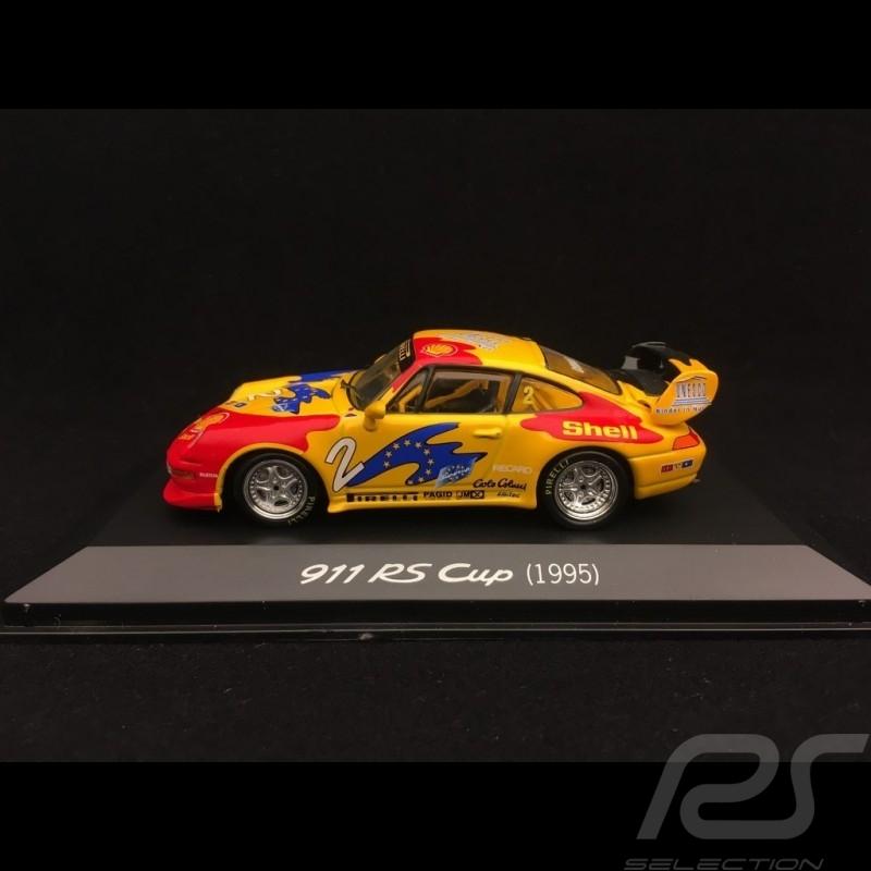 Porsche 911 RS Cup 993 n° 2 Comas 1995 1/43 Minichamps WAPC20SET05