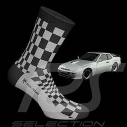 924 Carrera GT Pasha socks black / grey - unisex