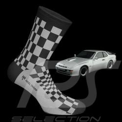 Chaussettes Socks Socken 924 Carrera GT Pasha noir / gris - mixte