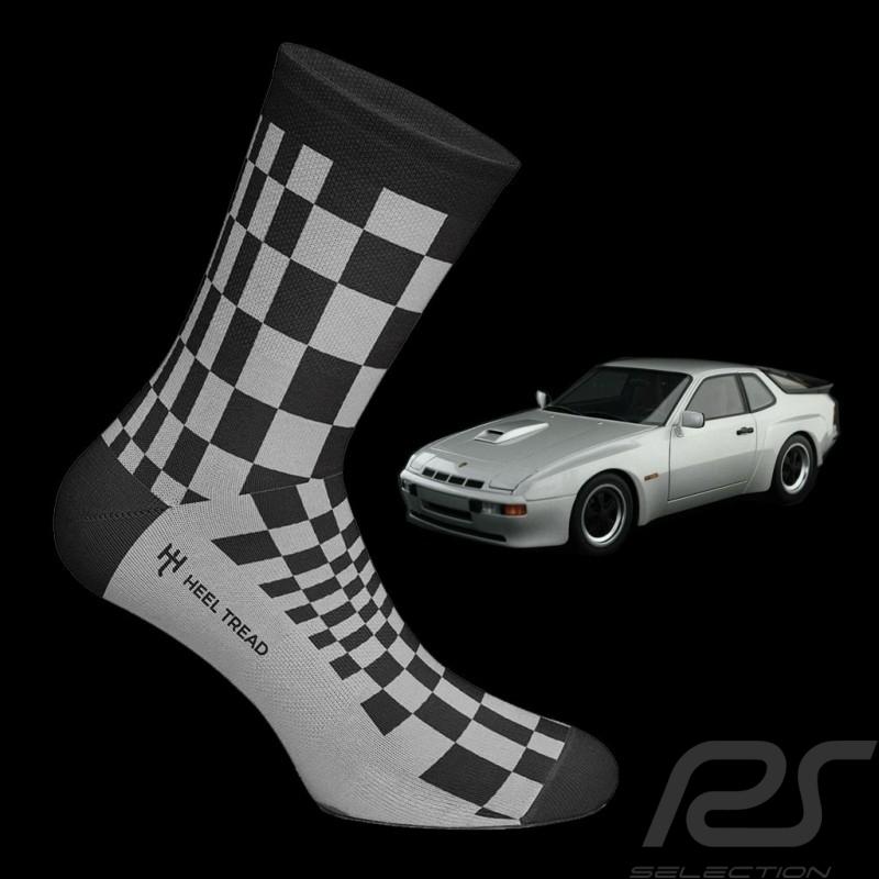 924 Carrera GT Pasha socks black / grey - unisex