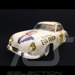 Porsche 356 PRE-A n° 200 Jacqueline Evans Carrera Panamericana Eva Peron 1953 1/18 Solido S1802801