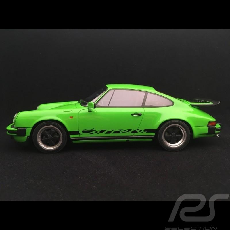 Preorder Porsche 911 3.2 Carrera 1974 Lime green 1/18 GT Spirit GT740