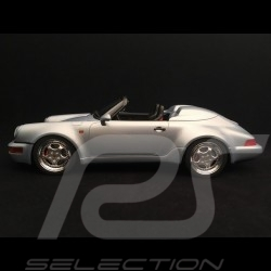 Porsche 911 type 964 Speedster Turbolook 1993 1/18 GT Spirit GT200 Gris polaire polar silver polarsilber