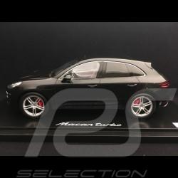 Porsche Macan Turbo 2013 black 1/18 Spark WAP0211550E