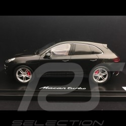 Porsche Macan Turbo 2013 noir 1/18 Spark WAP0211550E