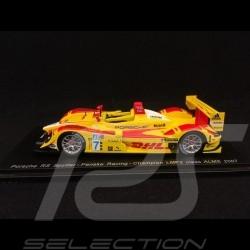 Porsche RS Spyder ALMS 2007 n°7 1/43 Spark S4185