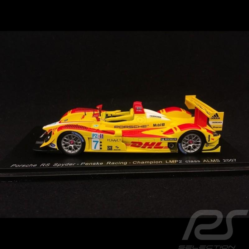 Porsche RS Spyder 2007 ALMS Mid-Ohio 1/43 Spark S4185