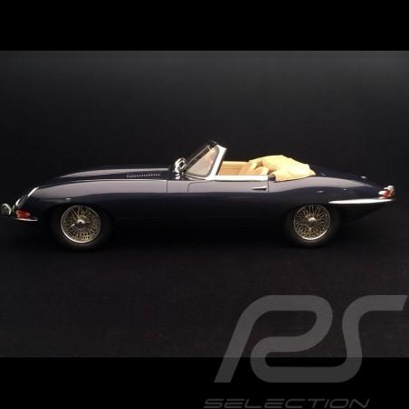 Jaguar E-typ Cabriolet 1961 Mk I dunkelblau 1/12 GT Spirit GT219