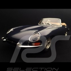 Jaguar Type E Cabriolet 1961 Phase I bleu nuit 1/12 GT Spirit GT219 dark blue dunkelblau