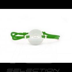 Bracelet RS Série limitée finition Argent cordon de couleur vert green grün Made in France