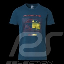 Porsche 928 T-shirt Petrolblau Collector box Limited Edition Porsche Design WAP425KHPK - Unisex