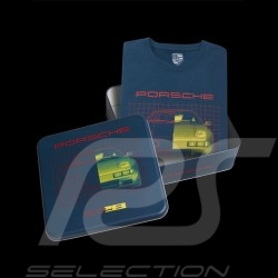 T-shirt Porsche 928 Boîte collector Edition limitée Porsche Design WAP425KHPK mixte bleu pétrole petrol blue petrolblau