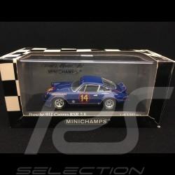Porsche 911 2.8 Carrera RSR Holbert n° 14 Trans-Am championship 1973 1/43 Minichamps 430736914