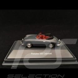 Porsche 356 Cabriolet gris grey grau 1/87 Schuco 452644200