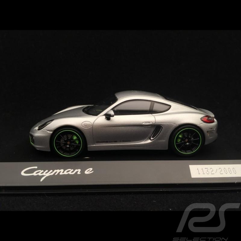 Porsche Cayman E type 981 2015 silber 1/43 Spark WAP0204030F