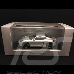 Porsche Cayman E type 981 2015 silver 1/43 Spark WAP0204030F