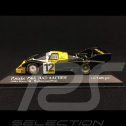 Porsche 956 K n° 12 Bad Aachen 1000 km Monza 1984 1/43 Minichamps 430846612