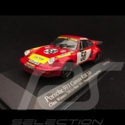 Porsche 911 Carrera RSR 3.0 Winner Le Mans 1975 n° 58 1/43 Minichamps 430756958