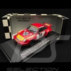 Porsche 911 Carrera RSR 3.0 Vainqueur Winner Sieger Le Mans 1975 n° 58 1/43 Minichamps 430756958