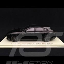 Porsche Panamera Turbo S e-hybrid Sport Turismo 1/43 Spark S7626 noir black schwarz