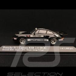 Porsche 911 2.8 Carrera RSR n° 4 Vainqueur Winner Sieger riverside IROC 1973 1/43 Minichamps 400736304