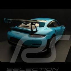 Porsche 911 GT2 RS 991 2018 Miami blue / carbon 1/18 Spark 18S281